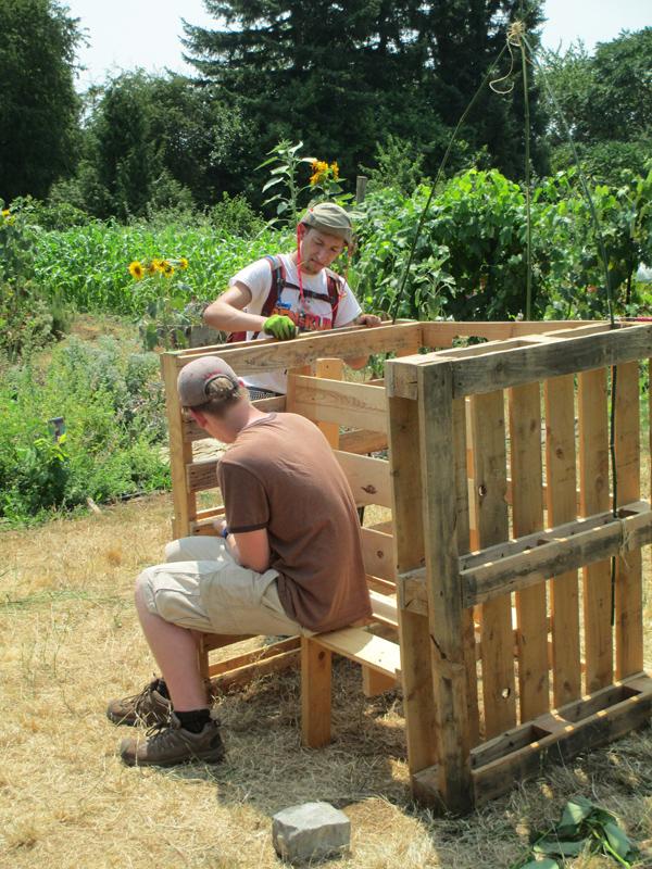 Sanding the Bench (2)