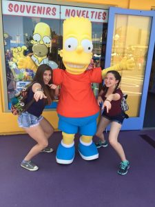 Universal Studios Day Out With Girls